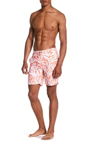 Onia Palm Leaf Print Calder Trunks