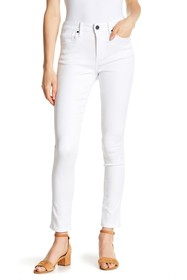 Seven7 Mid Rise Straight Leg Jeans