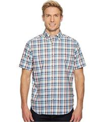 Nautica Short Sleeve Wear to Work Plaid Shirt