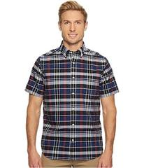 Nautica Wear to Work Short Sleeve Plaid Shirt