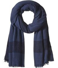 Tory Burch Solid Cashmere Logo Scarf