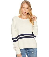 Splendid Seabrook Rugby Stripe Sweatshirt