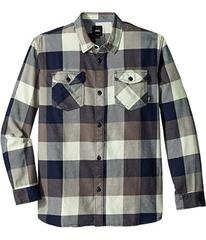 Vans Kids Box Long Sleeve Flannel (Big Kids)