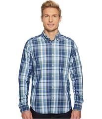 Nautica Long Sleeve Large Scale Plaid Shirt