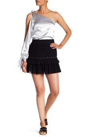 Rebecca Minkoff Sydney Grommet Detailed Skirt