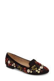 TOPSHOP Sugar Embroidered Smoking Slipper (Women)