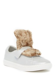 Hoo Chelia's Faux Fur Sneaker (Little Kid & Big Ki