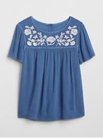 Gap &#124 Sarah Jessica Parker Crepe Embroidery To