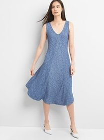 Ribbed Softspun Sleeveless Midi Dress