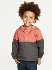 Hooded Lightweight Anorak for Toddler Boys