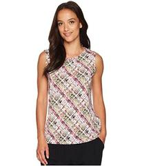 Tahari by ASL Printed Matte Jersey Sleeveless Top