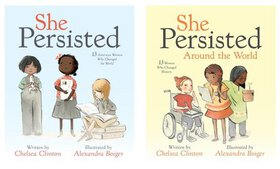 """She Persisted"" Children's Books by Chelsea Clinto"