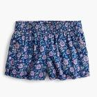 Floral pull-on short