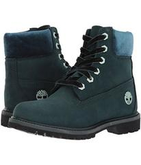 "Timberland 6"" Premium Leather and Fabric Waterproo"