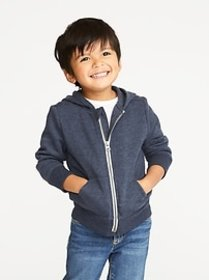 Zip-Front Hoodie for Toddler Boys