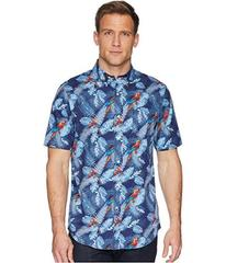 CHAPS Short Sleeve Printed Woven Shirt