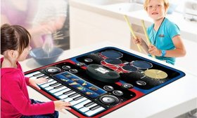 PicassoTiles Portable Electronic Music Playmat wit