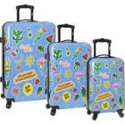 Wembley Live It Up Hardside 3pc. Spinner Luggage S