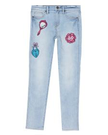 Juicy Couture Denim Pansy Party Jean for Girls