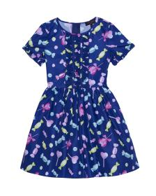 Juicy Couture Taffeta All Sorts of Candy Dress for