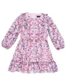 Juicy Couture Whimsical Pansy Georgette Dress for