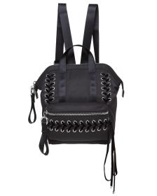 Juicy Couture Black Laced Mini Backpack