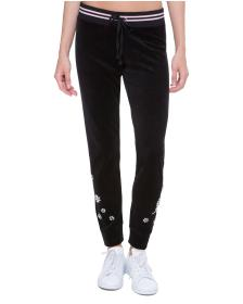 Juicy Couture Velour Crystal Garden Zuma Pant
