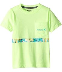 Hurley Kids Overgrown Stripe Tee (Little Kids)