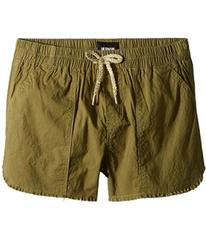 Hudson Kids Woven Twill Shorts in Faded Olive (Big