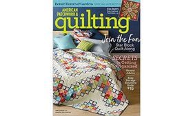 Up to 67% Off Subscriptions to American Patchwork