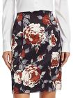 Theory Floral-Print Pencil Skirt