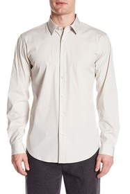 Theory Clean Placket Trim Fit Shirt