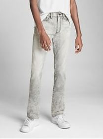 Special Edition Acid Wash Jeans in Slim Fit with G