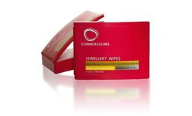 Connoisseurs Jewelry Dry Disposable Wipes 25 each