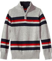 Tommy Hilfiger Kids Leon 1/2 Zip Sweater (Big Kids