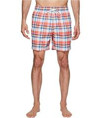 Nautica Coastal Beach Madras Swim Shorts