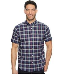 Nautica Wear To Work Short Sleeve Large Plaid Wove
