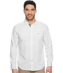 Nautica Long Sleeve Multicolor Anchor Woven Shirt