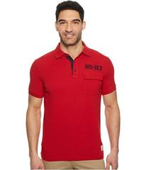 Nautica Short Sleeve Sail Applique Polo