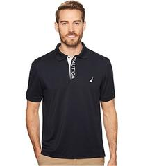 Nautica Short Sleeve Performance Logo Polo