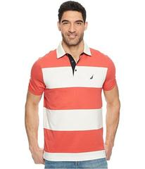 Nautica Short Sleeve Rugby Stripe Polo