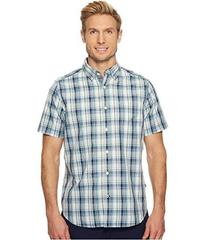 Nautica Short Sleeve Large Plaid Shirt