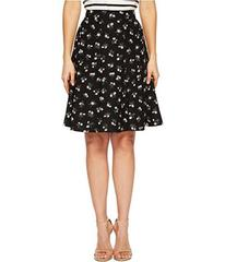 Kate Spade New York Flora Crepe Skirt