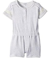 Splendid Littles French Terry Romper w/ Lace (Todd