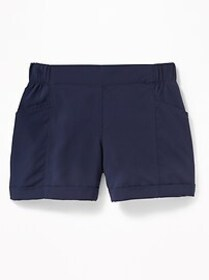 Lightweight All-Day Performance Shorts for Girls