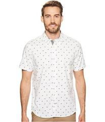 Nautica Short Sleeve Shark Print Woven Shirt