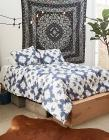 Dormify Mirror Dye Full/Queen Comforter and Sham S
