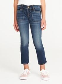 Utility Skinny Ankle Jeans for Girls