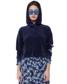 Juicy Couture Velour Juicy Wildstyle Pullover