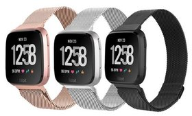 Milanese-Loop Mesh Replacement Band for Fitbit Ver